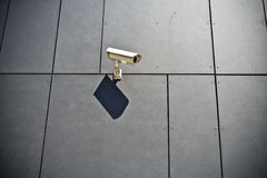 Security Camera And Business Building Royalty Free Stock Photo
