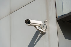 Security camera attached Royalty Free Stock Images