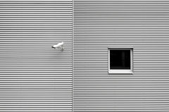 Security camera on building Stock Images