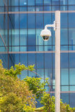 Security Camera with Building Background, CCTV. Camera Stock Images