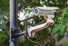Security camera, CCTV Stock Photos