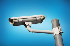 Security Camera or CCTV Royalty Free Stock Photo