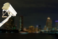 Security Camera or CCTV. Stock Photos