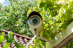 Security Camera or CCTV royalty free stock photography