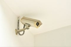 Security Camera or CCTV Royalty Free Stock Images