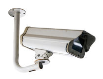 Security Camera, CCTV on location Royalty Free Stock Photography