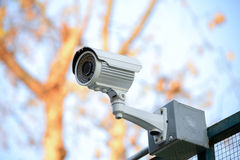 Security Camera CCTV Royalty Free Stock Photo