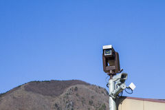 Security camera CCTV video surveillance Stock Photography