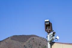 Security camera CCTV video surveillance Stock Photography