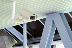 Security camera, CCTV Royalty Free Stock Photography