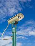 Security camera with clipping path Stock Photo