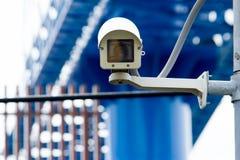 Security camera. Close up Security camera CCTV video Stock Photos