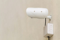 Security Camera close up Royalty Free Stock Photo
