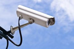 Security Camera, Closeup Royalty Free Stock Photos