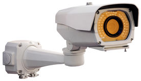 Security camera cutout Royalty Free Stock Photography