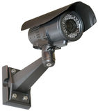 Security camera cutout Royalty Free Stock Images