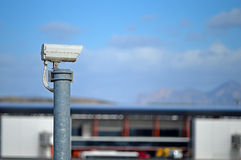 Security Camera Big Brother Royalty Free Stock Photography