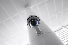 Security Camera in Government Owned Building Stock Photos