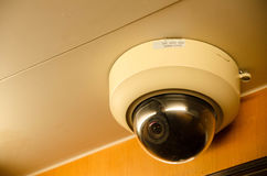 Security Camera. A security camera in a lift Stock Photos