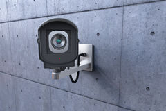 Security camera looking at you Royalty Free Stock Image