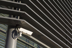 Security camera in a modern building Royalty Free Stock Photography