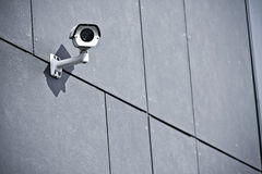 Security camera on office building Stock Photos