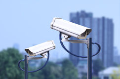 Security camera outdoor ,cctv outdoor Royalty Free Stock Images