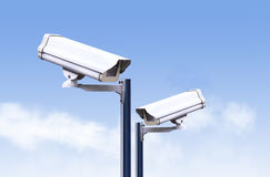 Security camera outdoor ,cctv outdoor Stock Images