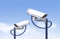 Security camera outdoor ,cctv outdoor Royalty Free Stock Photo