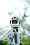 Security camera in the park Royalty Free Stock Photo