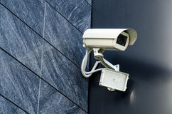 Security camera Private property protection Stock Photography