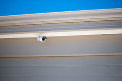 Security camera protecting a house Stock Photography
