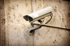 Security camera for the safety Royalty Free Stock Photos