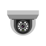 Security camera safety technology vector. Stock Photography