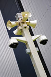 Security camera system   Royalty Free Stock Image