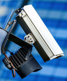 Security camera and urban video Royalty Free Stock Photo