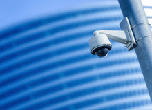 Security camera and urban video Stock Photography