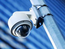 Security camera and urban video Stock Image