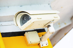 Security camera and urban video Stock Images