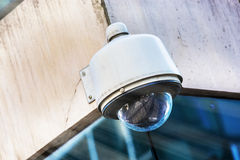 Security camera and urban video Royalty Free Stock Photography