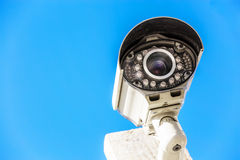 Security camera and urban video Stock Photos