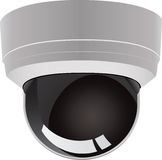 Security camera vector stock illustration