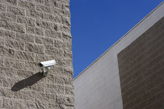 Security Camera On Wall Stock Image
