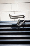 Security camera on the wall Royalty Free Stock Images