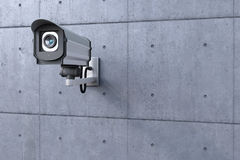 Security camera watching Royalty Free Stock Photography