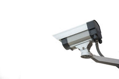 Security camera on a white background Stock Images