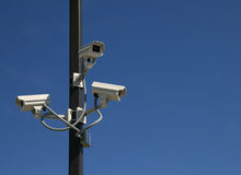 Free Security Cameras Royalty Free Stock Photography - 11933857