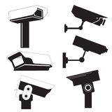 Security cameras Royalty Free Stock Photos