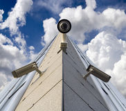 Security cameras Royalty Free Stock Image