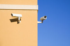 Security cameras. Plenty of copyspace Stock Photography